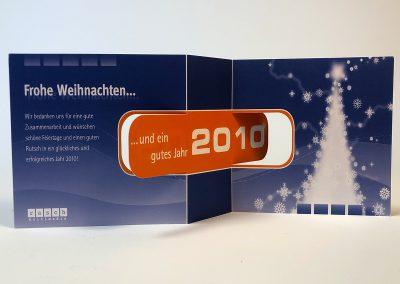 """Weihchnachtskarte """"Turn it"""""""