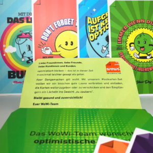 "WoW!-Karten-Set ""Optimismus"""