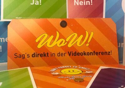 WoW! Moderationskarten für die Videokonferenz